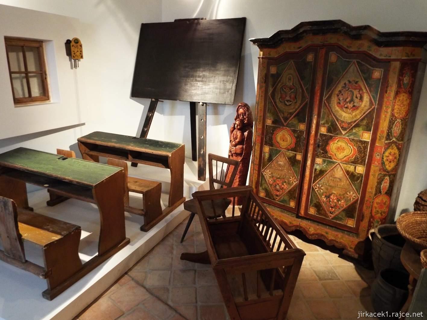 Žarošice - muzeum - expozice selského bydlení