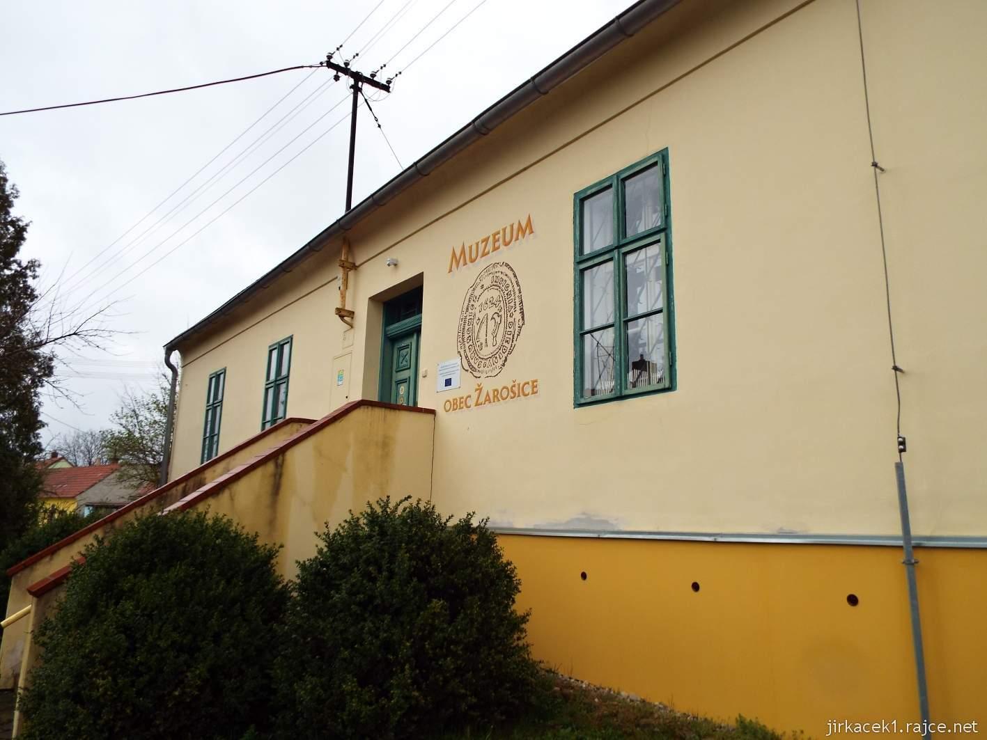 Žarošice - muzeum - budova