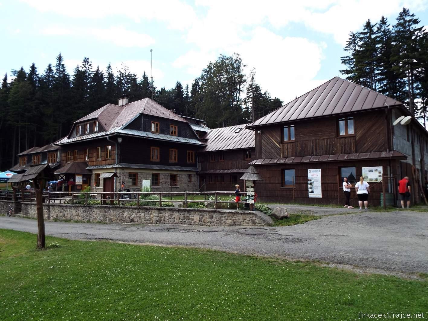 Vsacký Cáb - horská chata