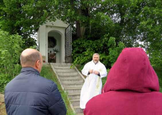 51 májová pobožnost u kapličky Panny Marie u Strupčice dne 12.5.2019