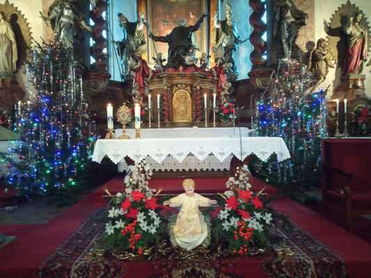 Požehnané vánoce z jirkovského kostela všem!