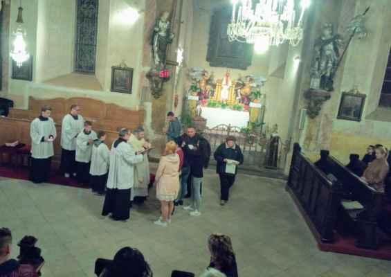 31 velikonoce v kostele sv. Jiljí v Jirkově