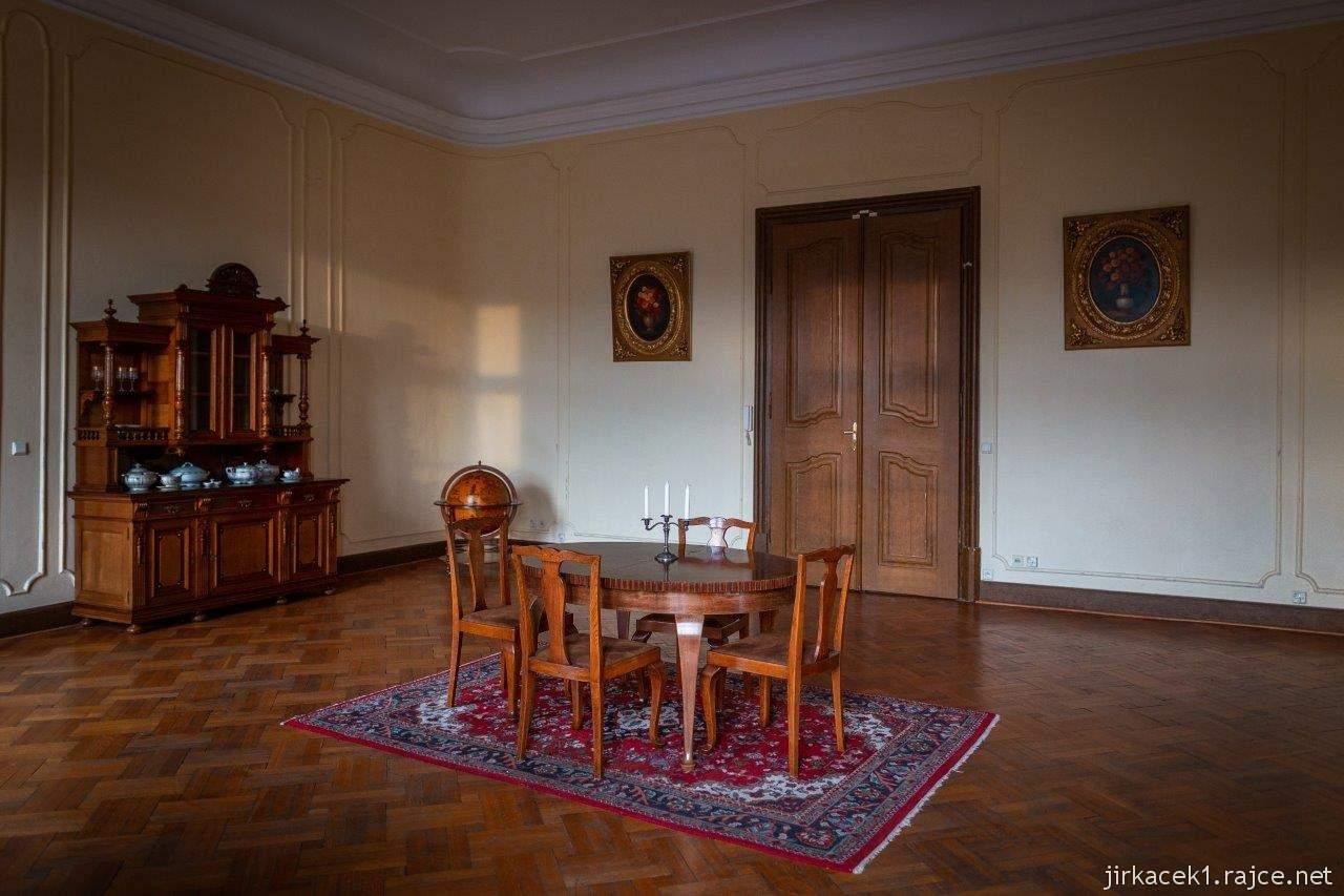 Napajedla - zámek 19 - barokní salonek