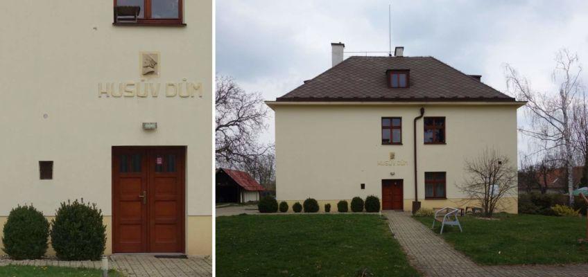 Tenhle dům na první pohled zřejmě nezaujme vůbec ničím, ale jde vlastně o kostel. Husův dům byl vystavěn ve stylu moderny v letech 1929-30 podle projektu významného českého architekta B. Kozáka.