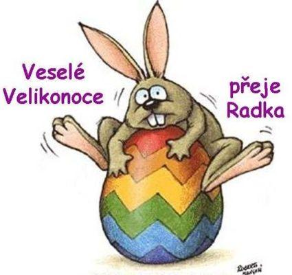 Všem přeji krásné a klidné Velikonoce a ať nás kluci zase pěkně vyšupou, abychom byly celý rok zase jak ten proutek :o)))