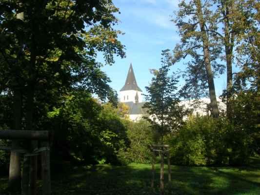 Kostel Povýšení sv. kříže v Karviné - Fryštátu.