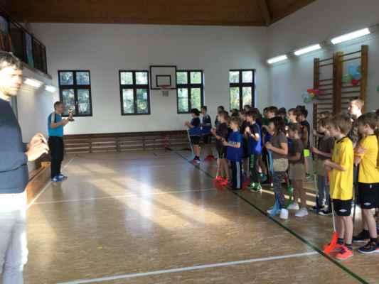 ZŠ Mžany 2/2020 - Turnaj ve florbalu v ZŠ Mžany