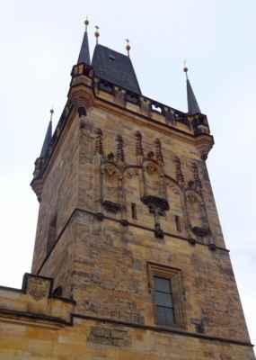 Mostecká - Malostranské mostecké věže