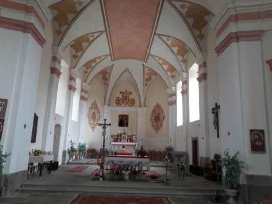 Kostel Panny Marie Sněžné - Svatý Kámen - IICSA