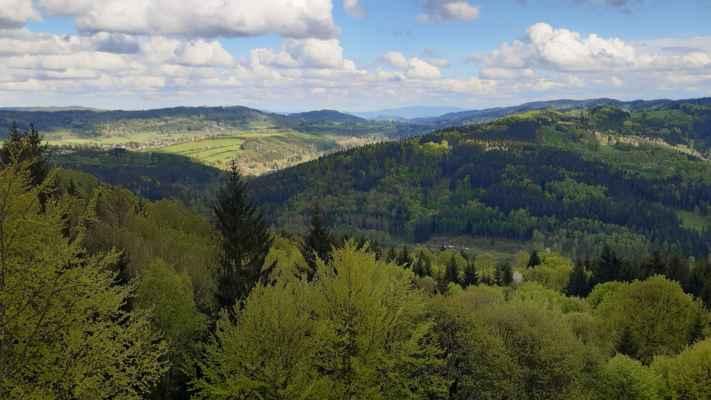 Orlické hory z Jánského vrchu - https://mapy.cz/s/fehojaruju