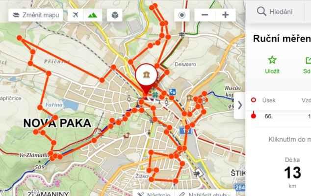 4.5.2021 kličkování po Nové Pace ( přibližně, někudy jsem šel vícekrát - LABky) - https://mapy.cz/s/pobonebole
