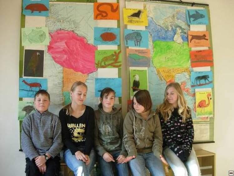 Zvířata – celoškolní projekt