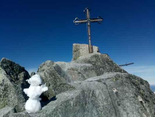 16.10.2021 Na nejvyšší hoře bývalého Československa - pozdrav od HONZY