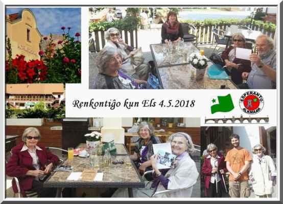 Renkontiĝo kun Els Ten Hagen el la ĝemela klubo el Alkmaar (Nedelrando) - Setkání s Els Ten Hagen z družebního klubu v Alkmaaru (Nizozemí)
