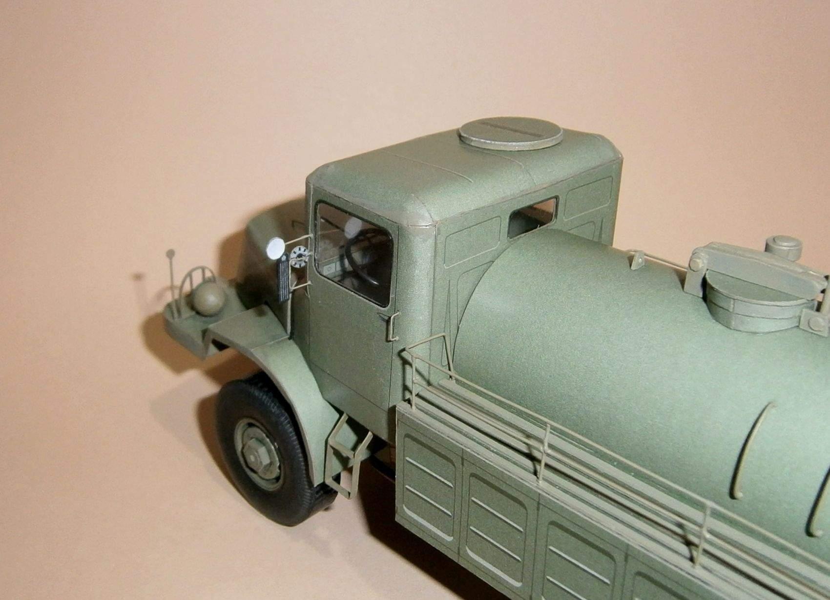 Tatra 128C - cisterna