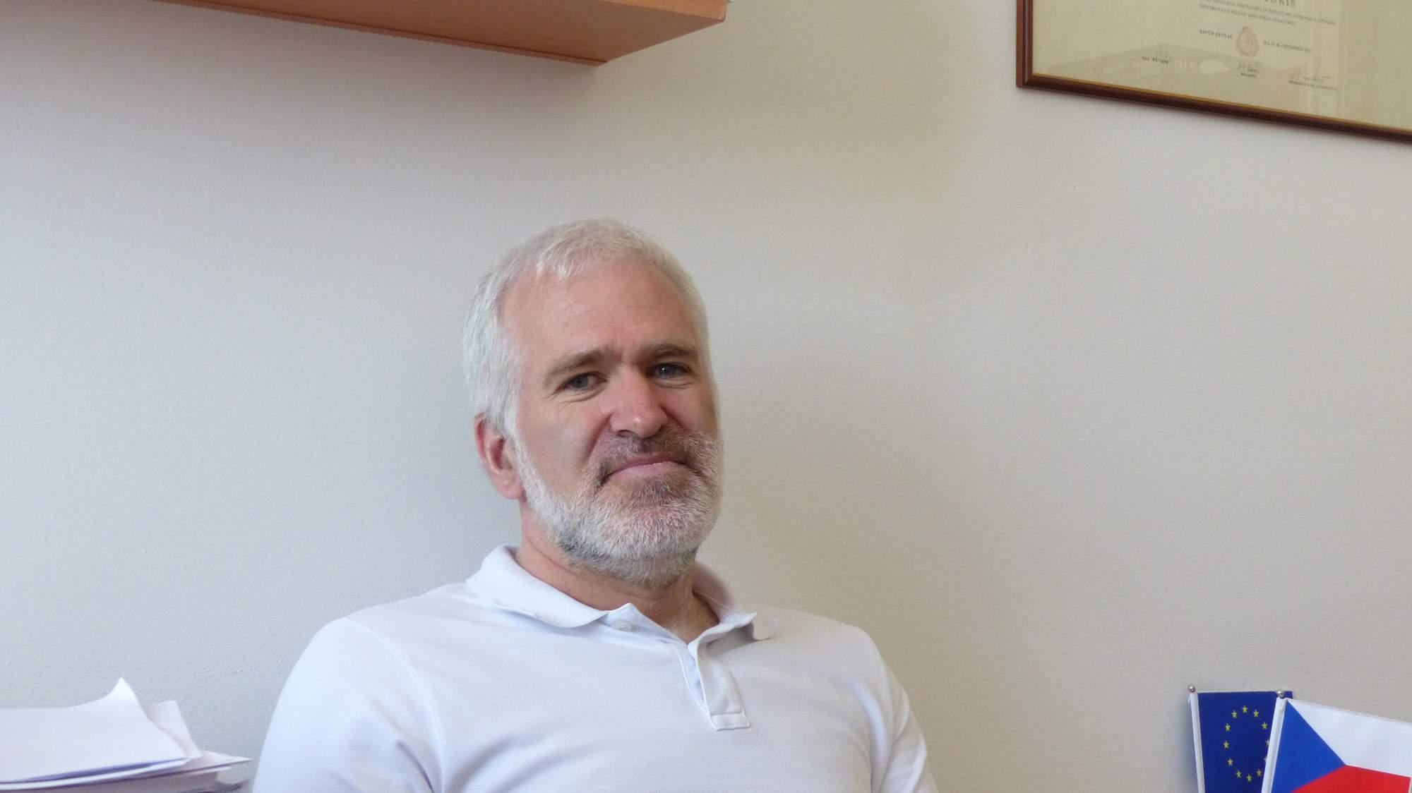 Docent evropského práva Filip Křepelka.