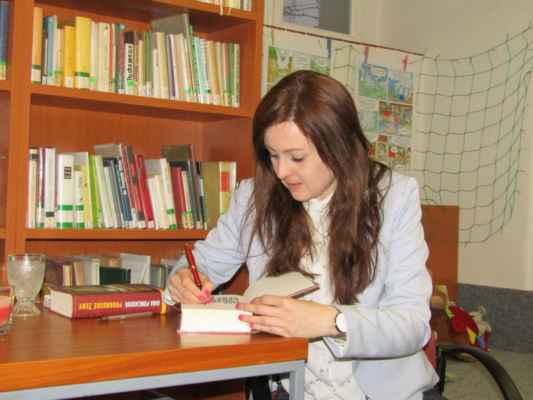 21. března 2019 - Beseda se spisovatelkou Janou Poncarovou