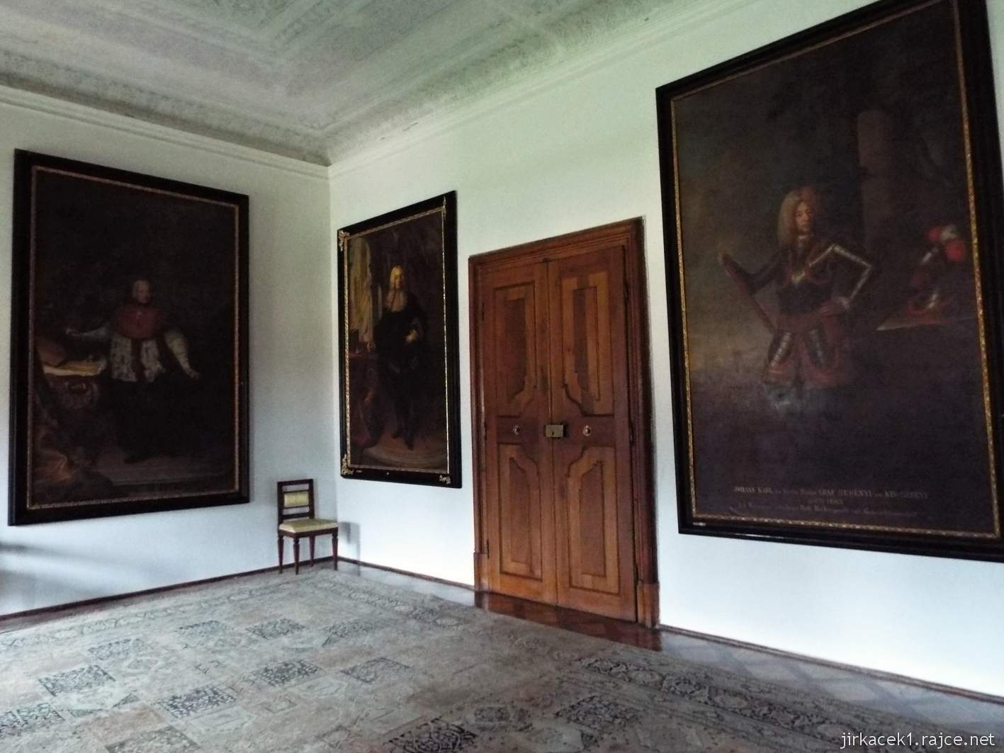 zámek Milotice 48 - interiéry - obrazárna