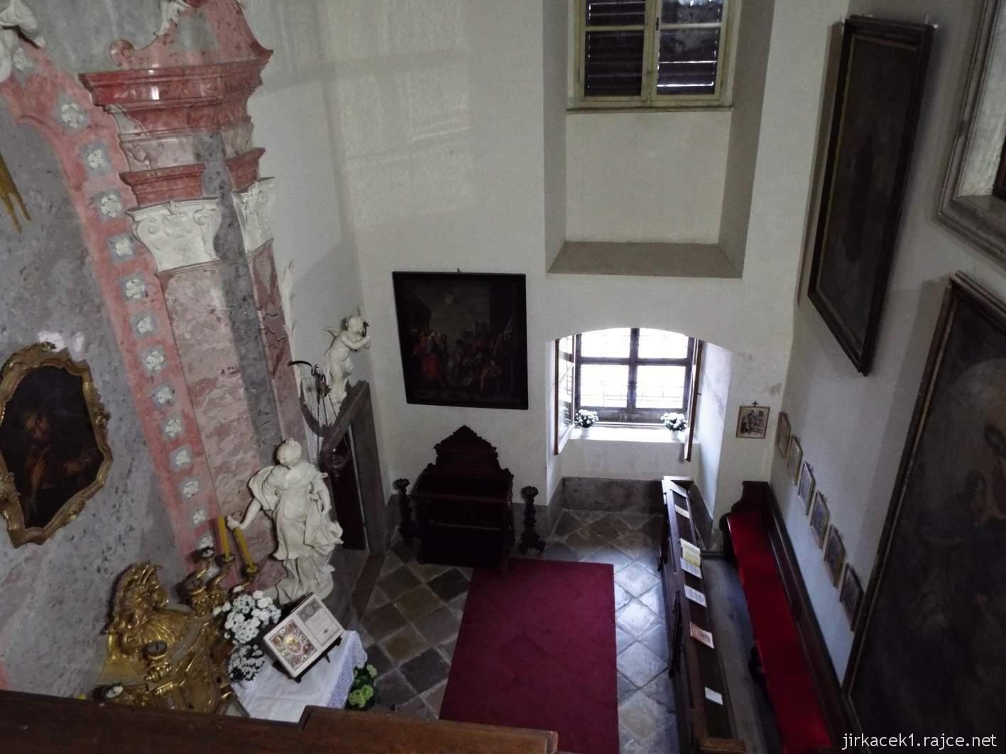 zámek Milotice 59 - interiéry - Kaple Panny Marie a sv. Jana Nepomuckého