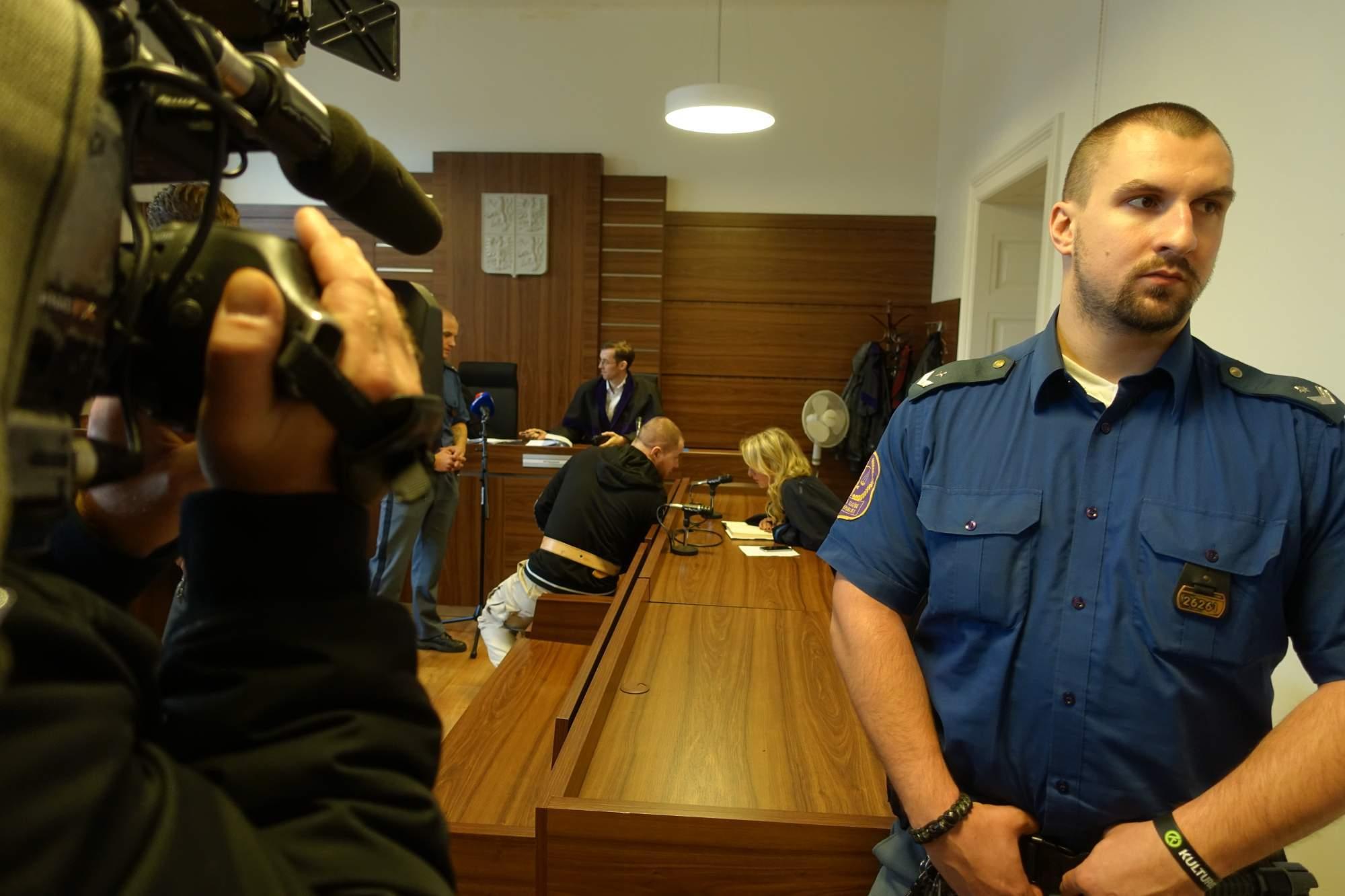 Dominik Kobulnický byl obžalován z plánování teroristického útoku. Autor: Pavel Hanosek