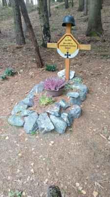 Hranice - Trojmezí, Soldatengrab