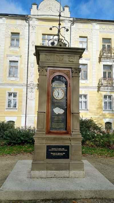 Františkovy Lázně - meteoskop