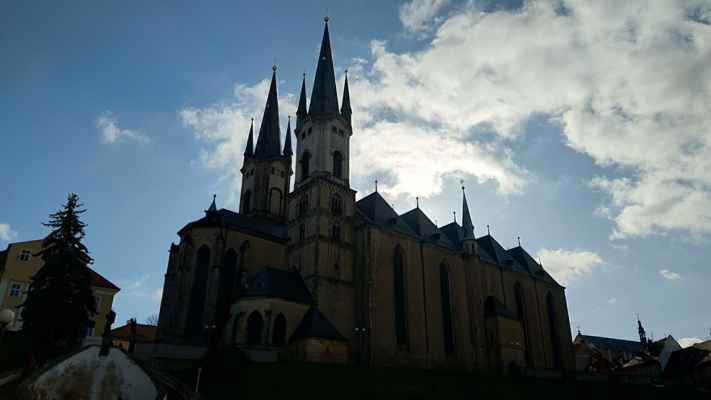 Cheb - Kostel sv. Mikuláše a sv. Alžběty