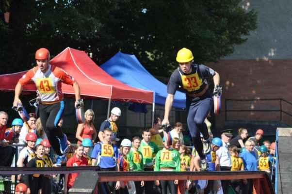 Krajské kolo soutěže v požárním sportu 2012