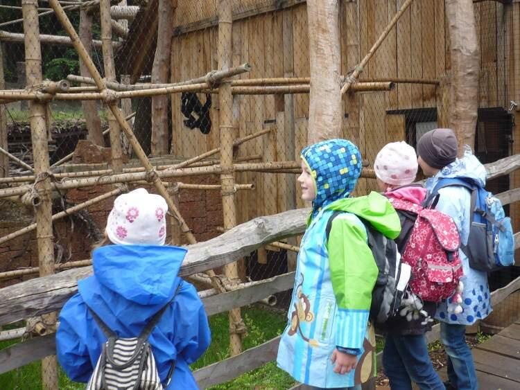 Prvňáčci v Zoo Jihlava