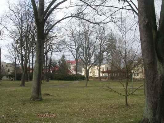 Park mezi Hospůdkou u parku a Fryštátskou chalupou