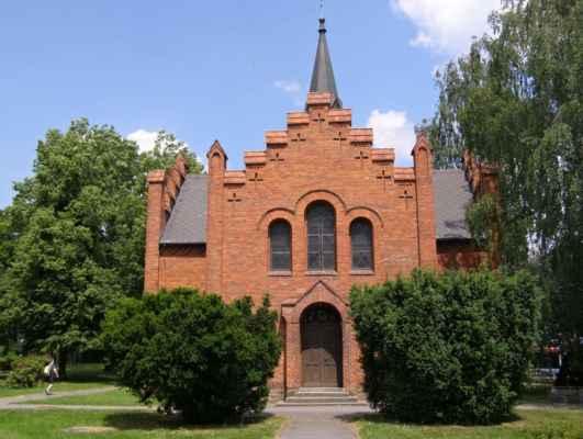 Hlučín - Evangelický kostel - čelní pohled