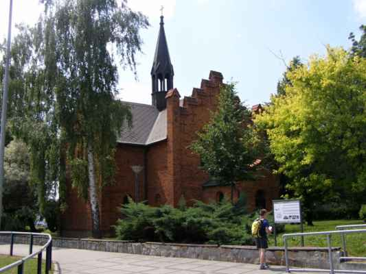 Hlučín - Evangelický kostel - celkový pohled