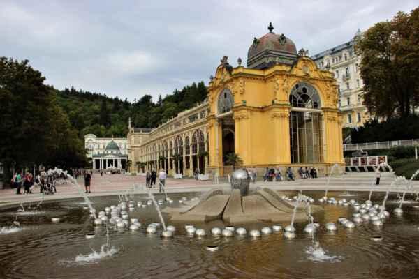 Zpívající fontána - Mariánské Lázně