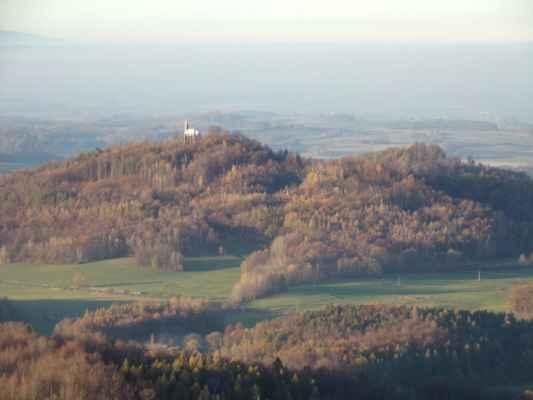 Boží hora a Borový vrch