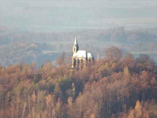 kostel Panny Marie Bolestné na Boží hoře nad Žulovou