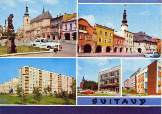 Svitavy - pohled_1982