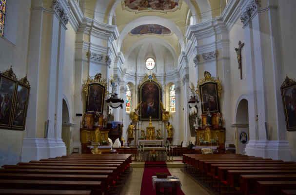Svitavy - kostel Navštívení Panny Marie