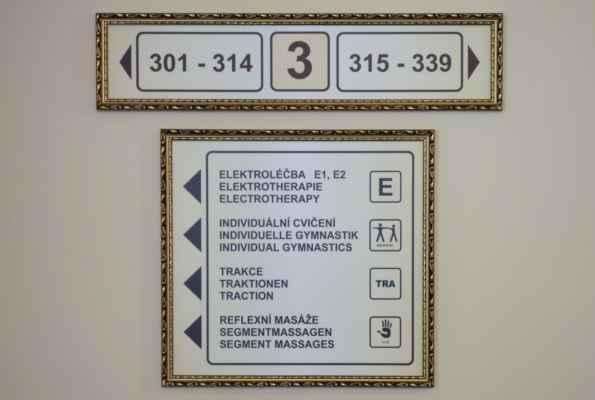 Ve 3. patře jsem chodila na elektro a individuální cvičení.