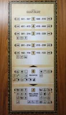 Procedury se realizují buď ve 3. patře nebo v přízemí nebo v suterénu. V přízemí jsem žádné procedury neměla. Sem jsem chodila jen na kontroly k lékaři a na jídlo :o)))