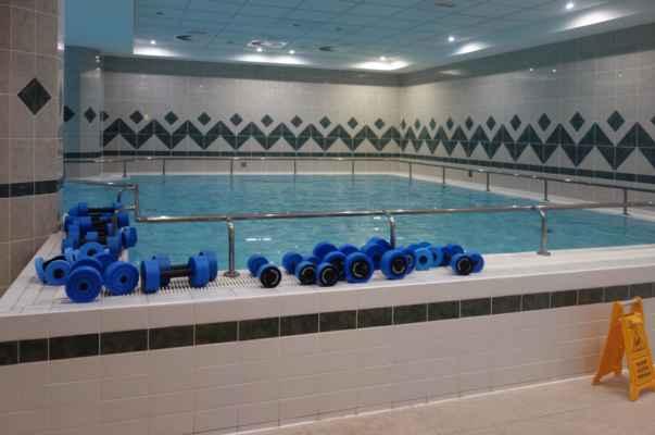 A tohle je bazén...
