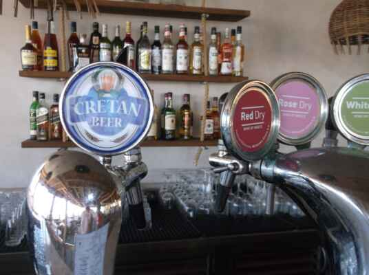 Krétské pivovary/Krétské pivo/Krétské víno