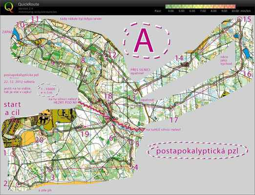2012 12 22 PZL Postapokalypticka - 1:43:44, 17 225m. asc 307m