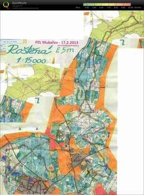 2013 02 17 PZL Rostenka - 20540m, 2:04:44,  asc 270m